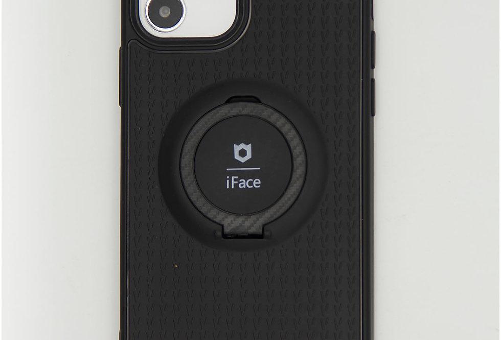 Чехол для iPhone 12 (6.1) силиконовый iFace с металлической пластиной
