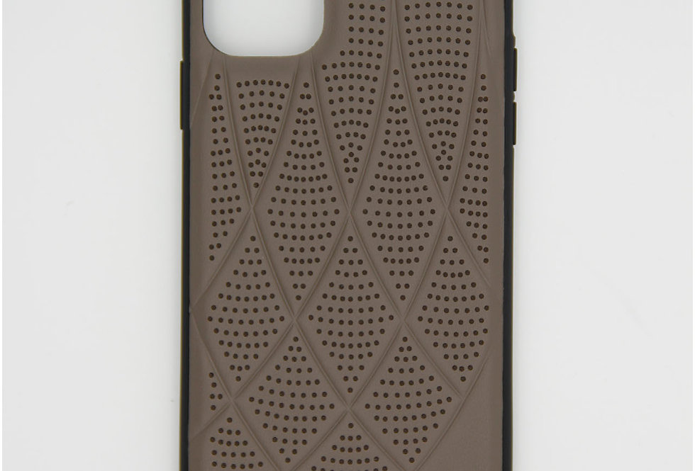 Кожаный чехол на iPhone 11 Pro Max Mercedes