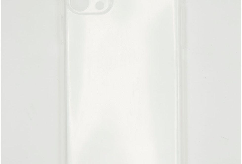 Чехол для iPhone 11 Pro Max силикон прозрачный с защитой на камеру