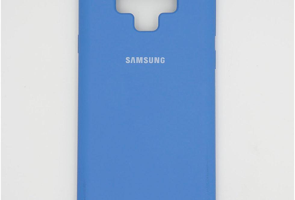 Силиконовый чехол на Samsung Note 9 Silicone Cover