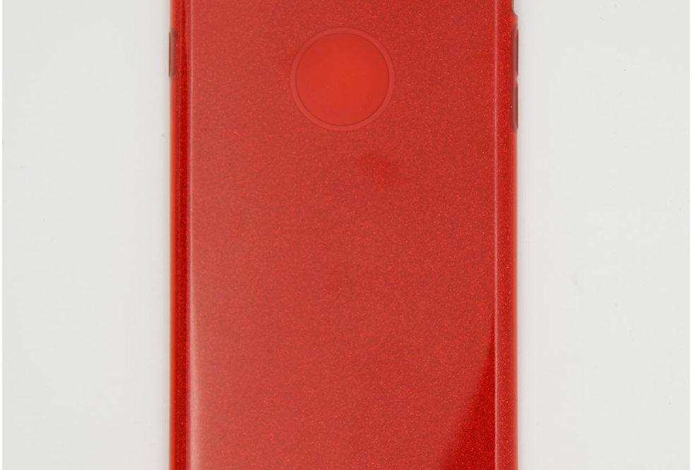 Трехсоставный силиконовый чехол на iPhone 6 Plus