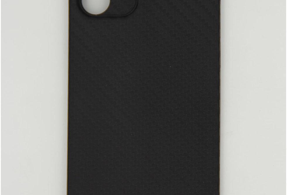 Чехол для iPhone 12 (6.1) K-Doo Air Carbon черный