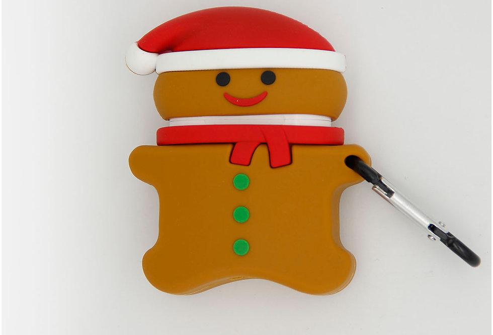 Чехол игрушка для AirPods 1/2 печенька