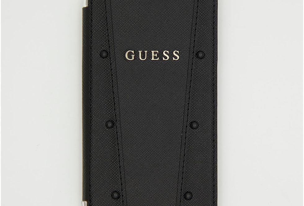 Чехол книжка на iPhone X Guess