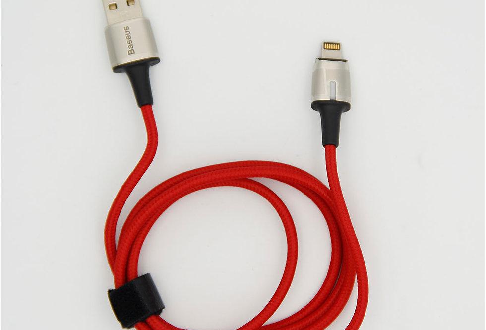 Зарядный магнитный кабель lightning 1м нейлоновая обмотка Baseus