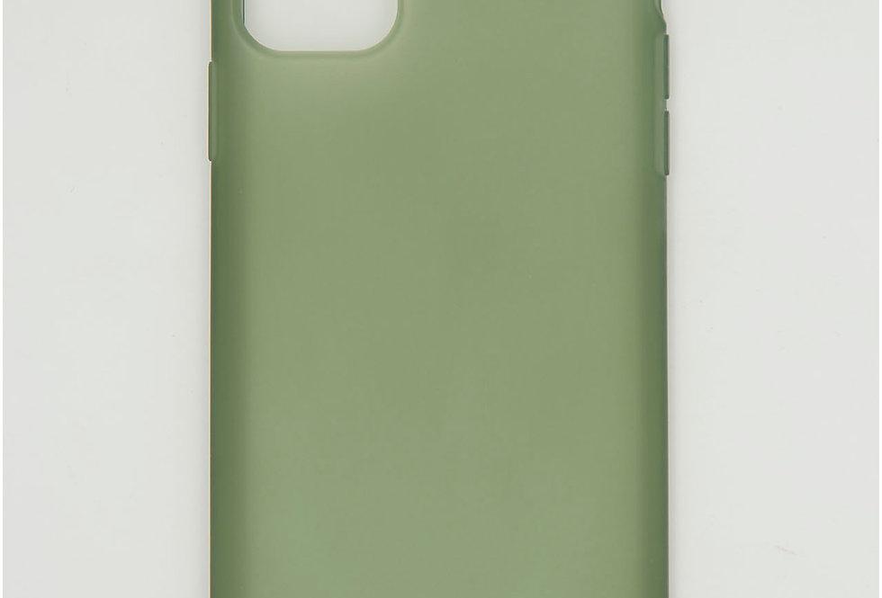 Чехол для iPhone 11 Pro Max мягкий полупрозрачный