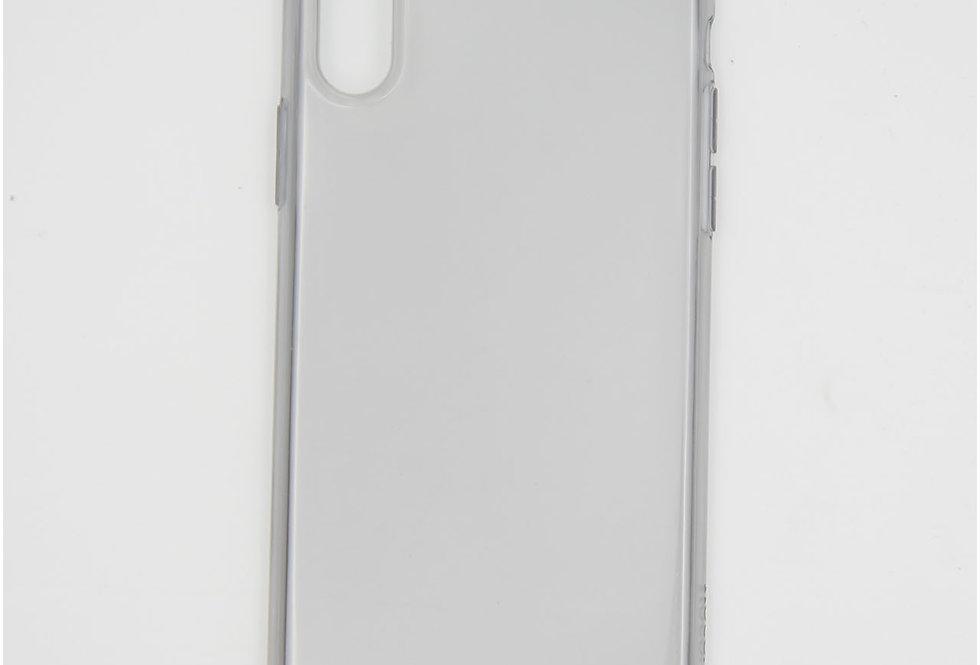 Силиконовый тонированный  тонкий чехол на iPhone X/Xs Hoco