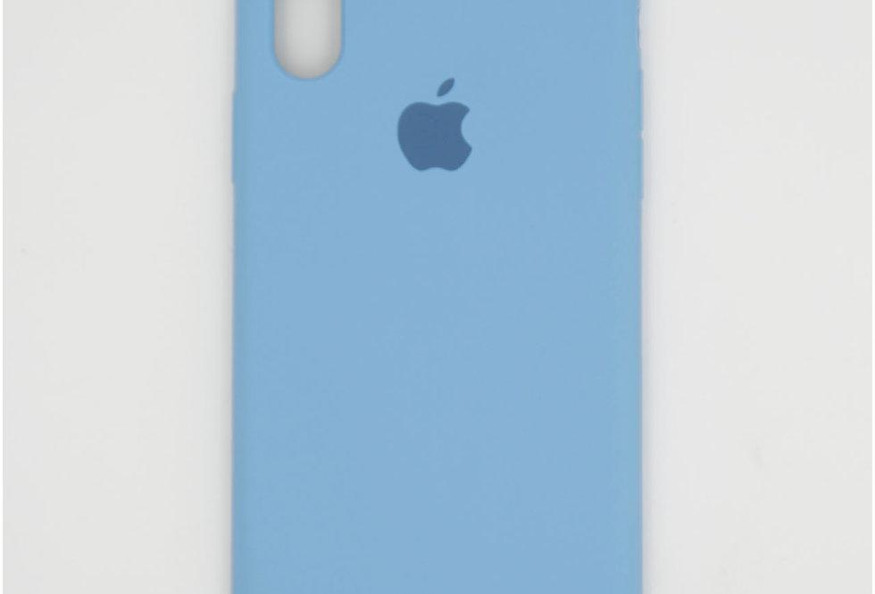 Силиконовый чехол на iPhone Xs (Silicone case)