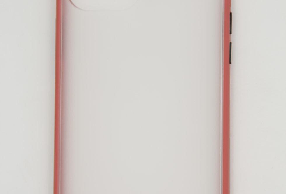 Чехол для iPhone 12 (6.7) противоударный матовый пластик