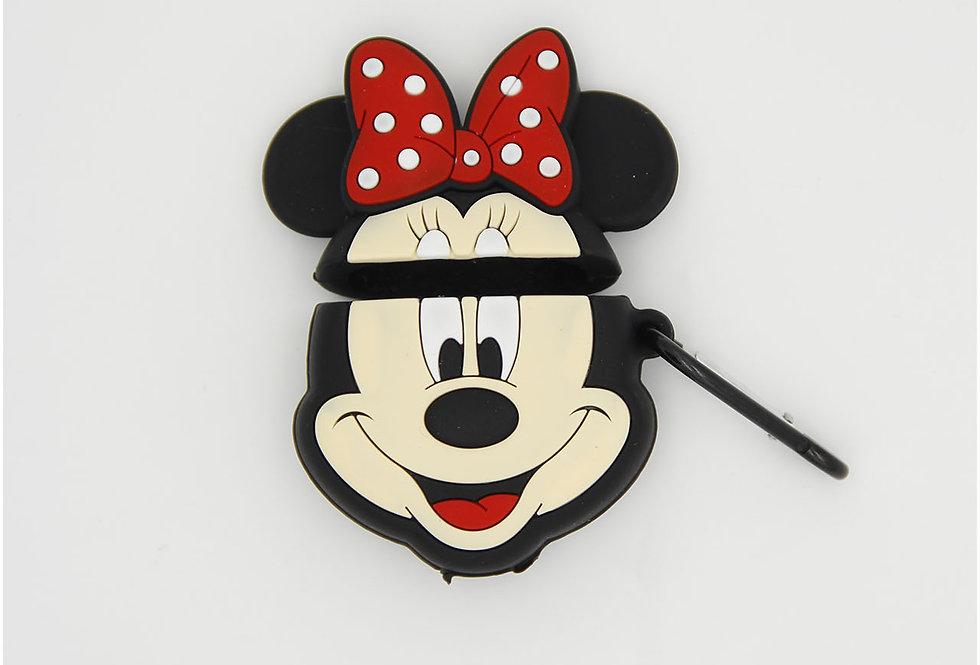 Чехол игрушка на AirPods Minnie Mouse