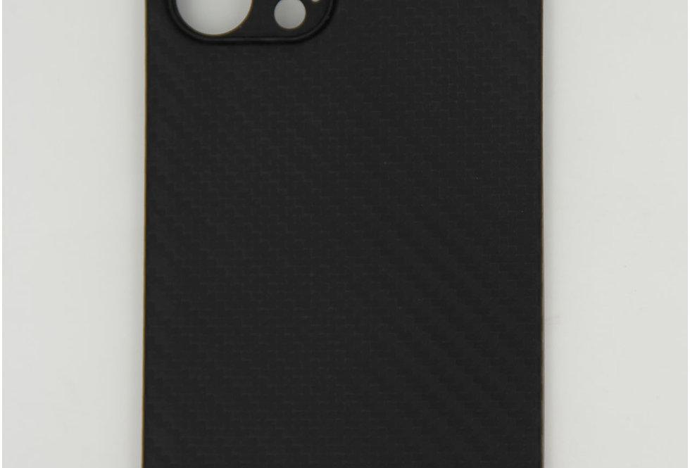 Чехол для iPhone 12 (6.7) K-Doo Air Carbon черный