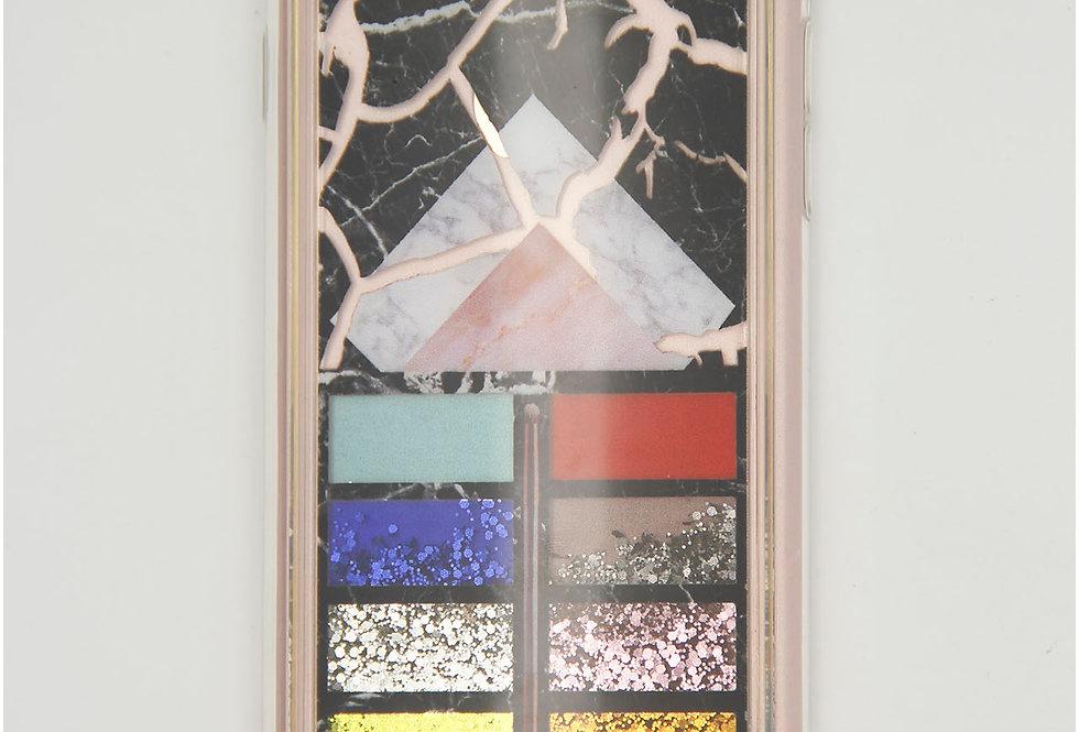 Чехол для iPhone 7/8 палетка теней с жидкостью