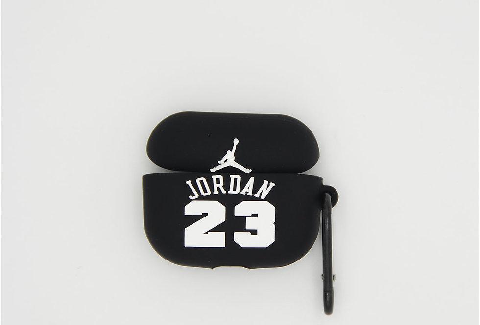 Чехол на AirPods логотип Air Jordan