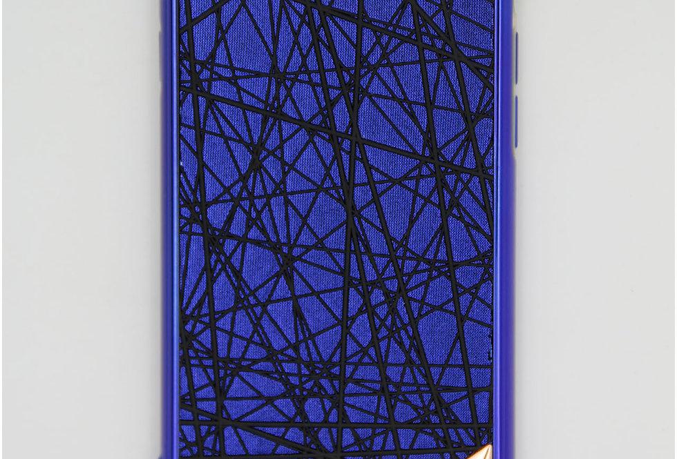 Чехол для iPhone 6/7/8 Micheal Kors пластик с черными рельефными узорами