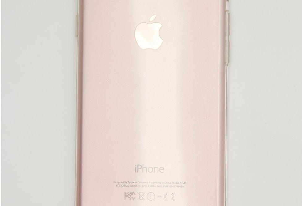 Чехол для iPhone 7/8 тонкий силикон с заглушкой