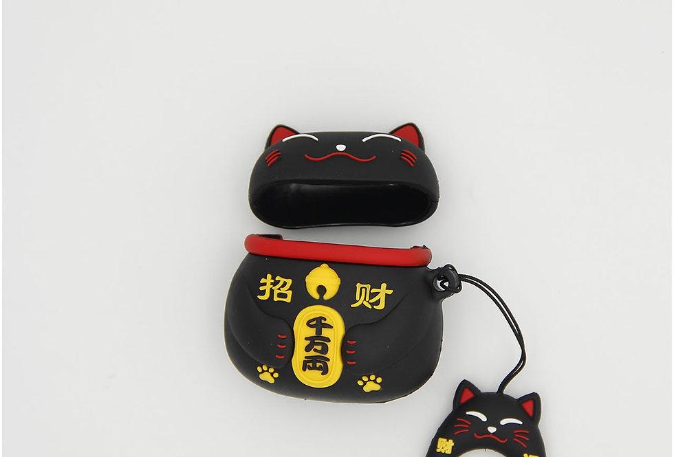 Чехол игрушка на AirPods Манэки нэко
