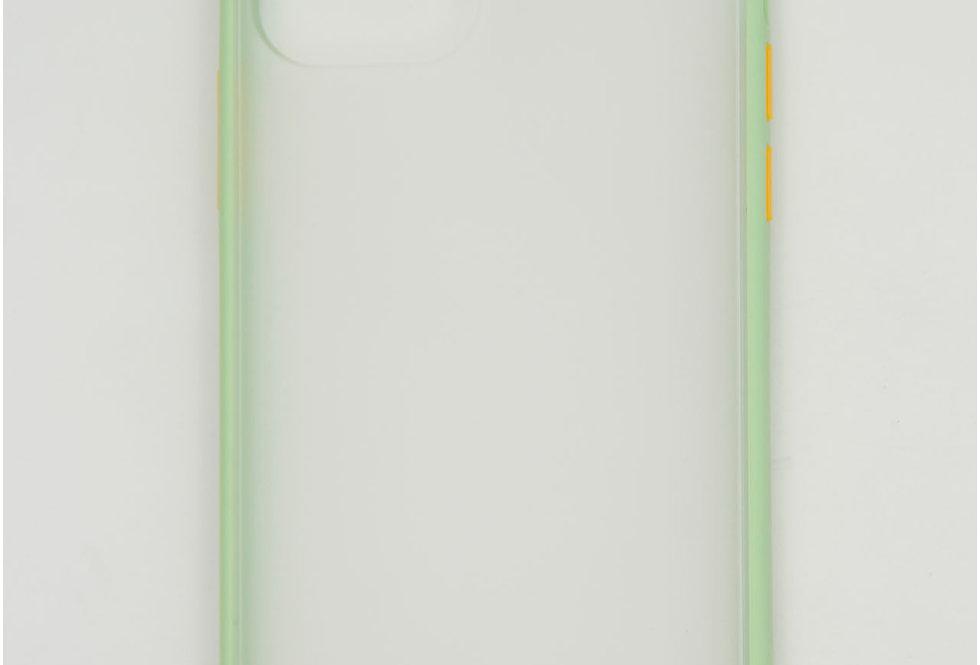 Чехол для iPhone 12 (6.1) противоударный матовый пластик