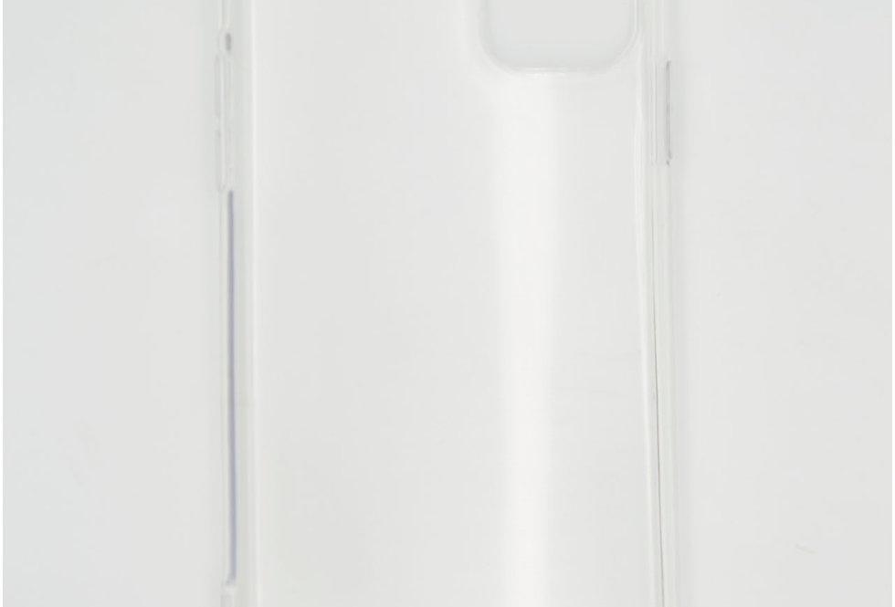 Чехол для iPhone 11 силиконовый прозрачный с усиленными углами