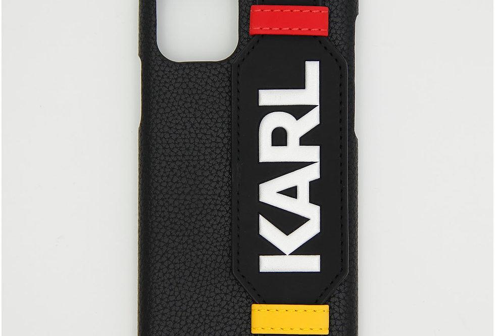 Кожаный чехол на iPhone 11 Pro Karl Lagerfeld