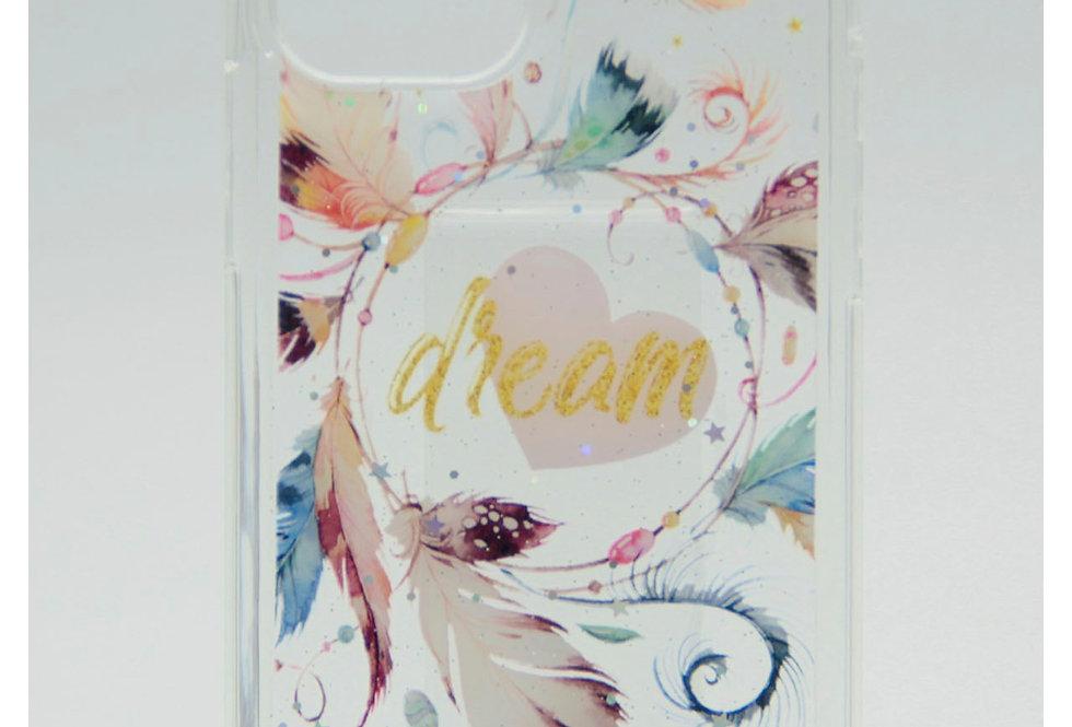Прозрачный чехол для iPhone 12Pro Max с принтом Ловца снов