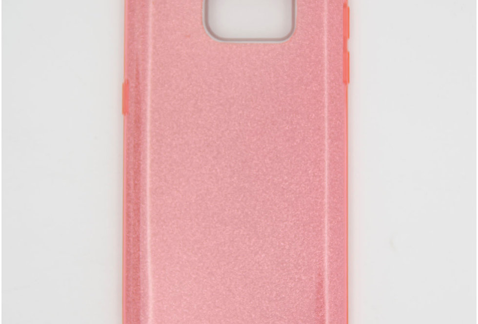 Трехсоставной силиконовый чехол на Samsung S7