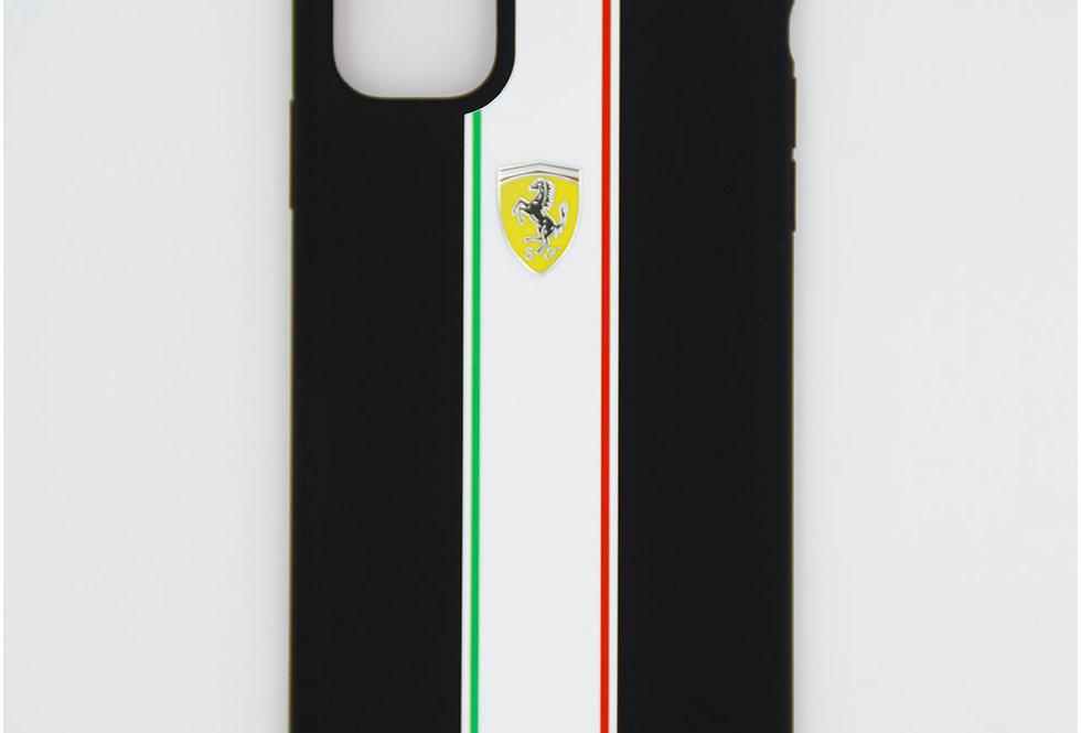 Силиконовый чехол на iPhone 11 Ferrari