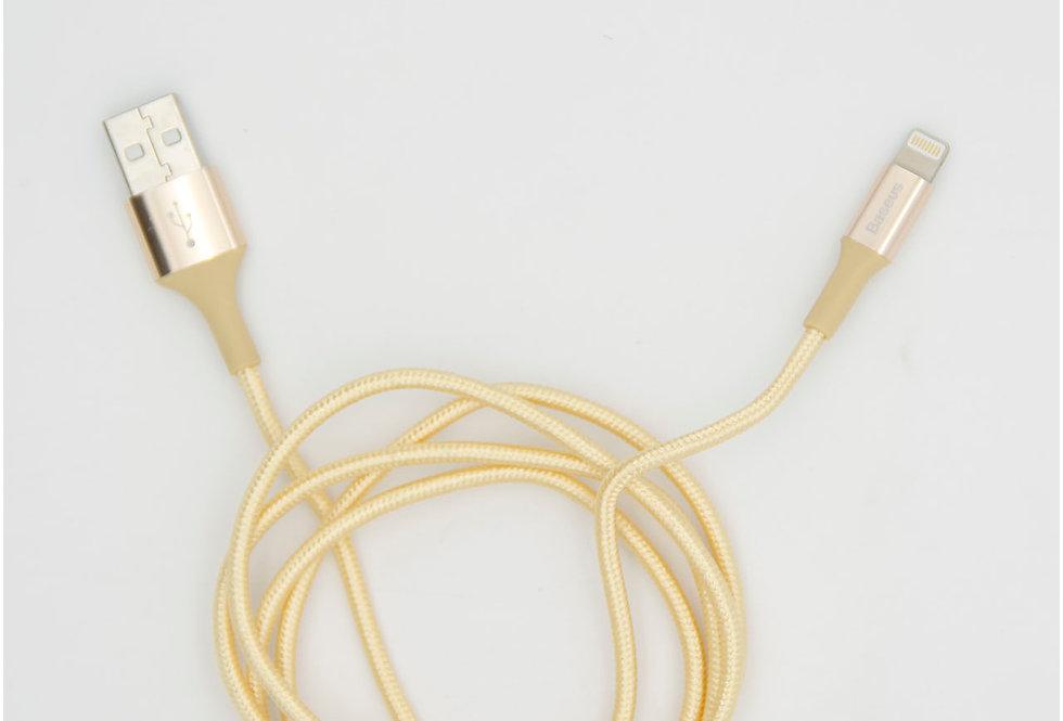 Зарядный кабель Lightning 100см 2А Charge Baseus