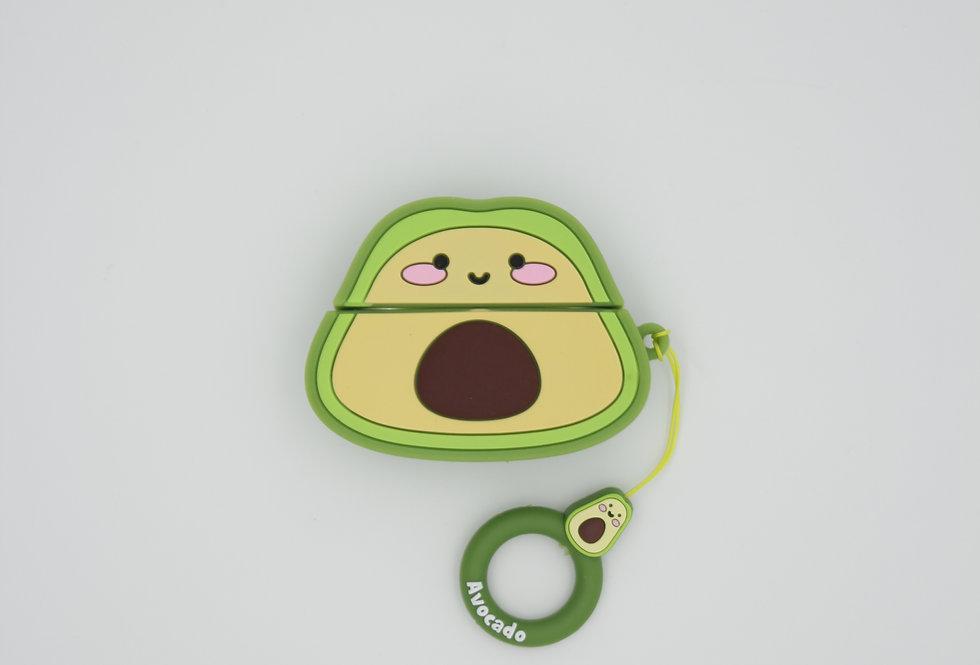 Чехол игрушка на AirPods Pro Авокадо