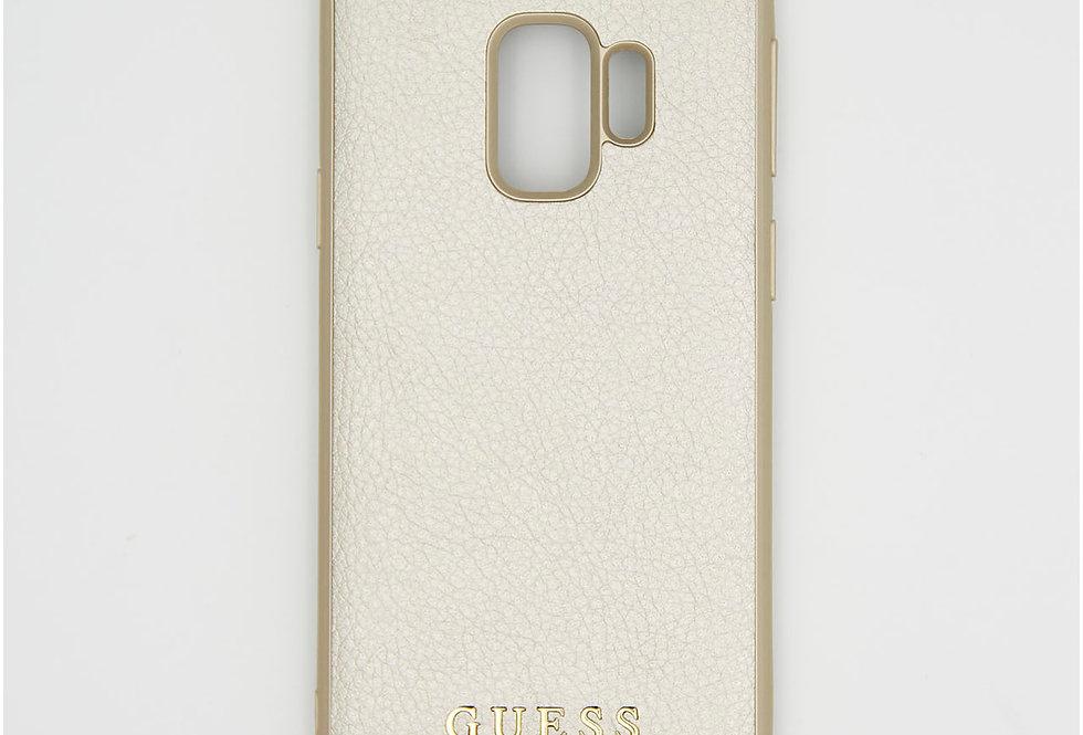 Кожаный чехол на iPhone Samsung s9 GUESS