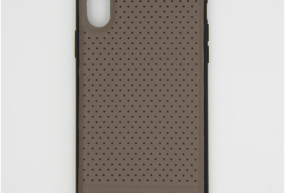 Кожаный чехол на iPhone Xr BMW