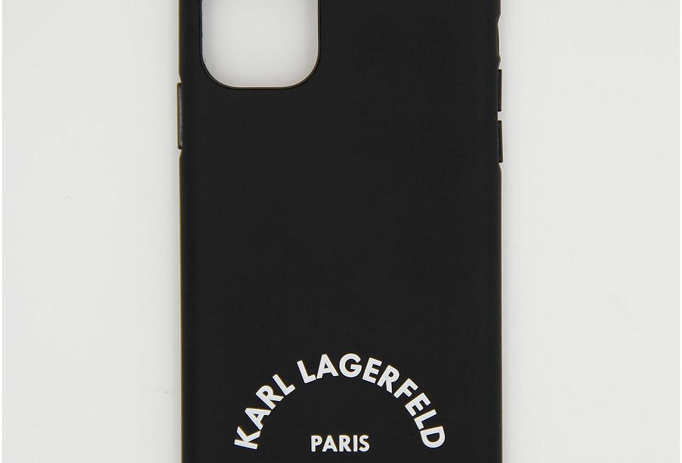 Полиуретановый чехол на iPhone 11 Karl Lagerfeld