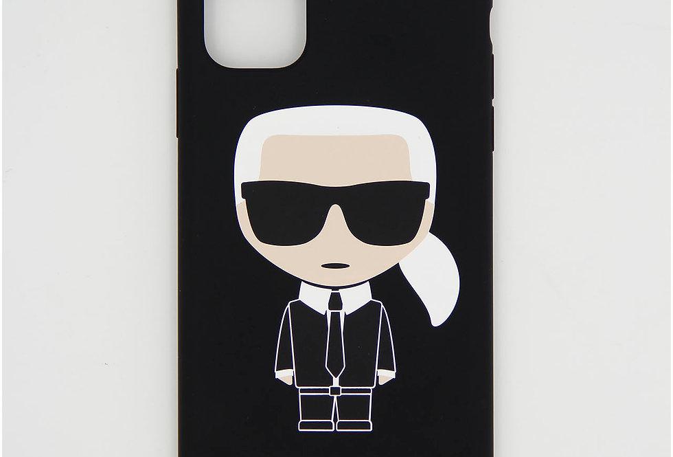 Силиконовый чехол на iPhone 11 Karl Lagerfeld