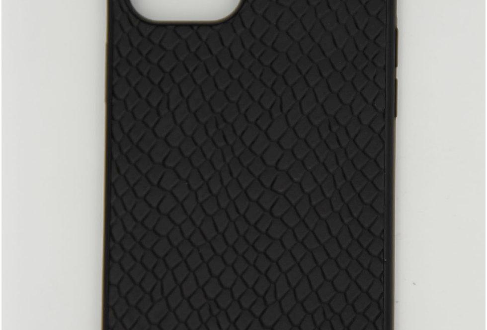 Чехол для iPhone 12 (6.7) Kajsa накладка кожаная