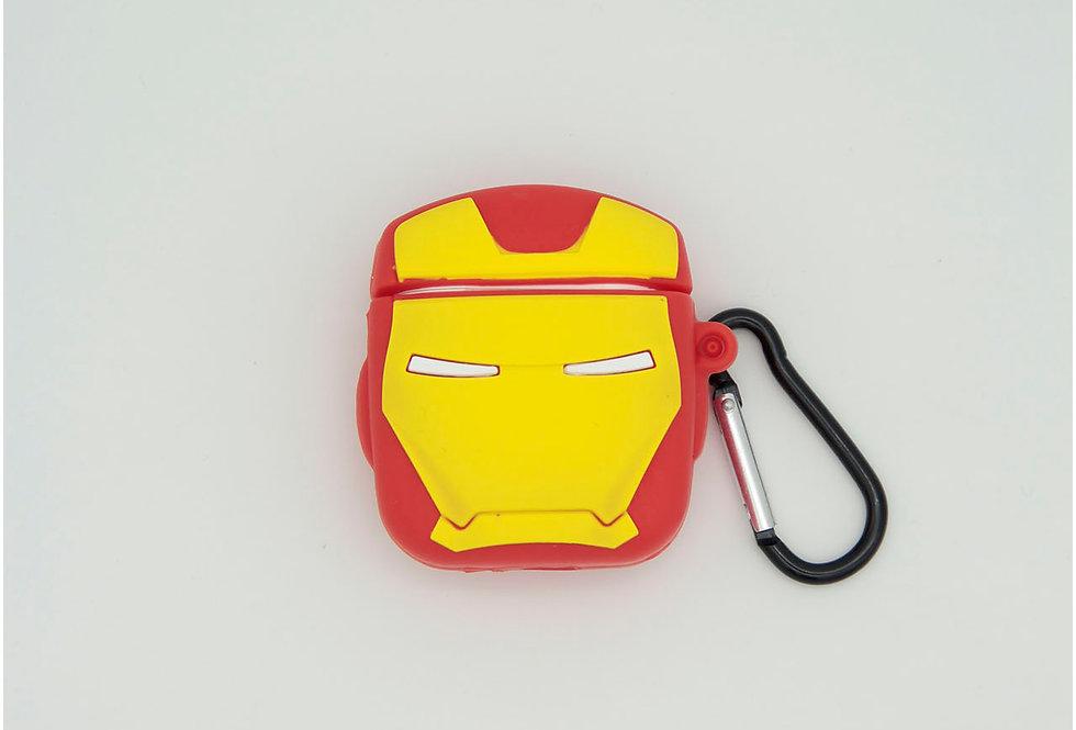 Чехол для AirPods 1/2 Iron Man