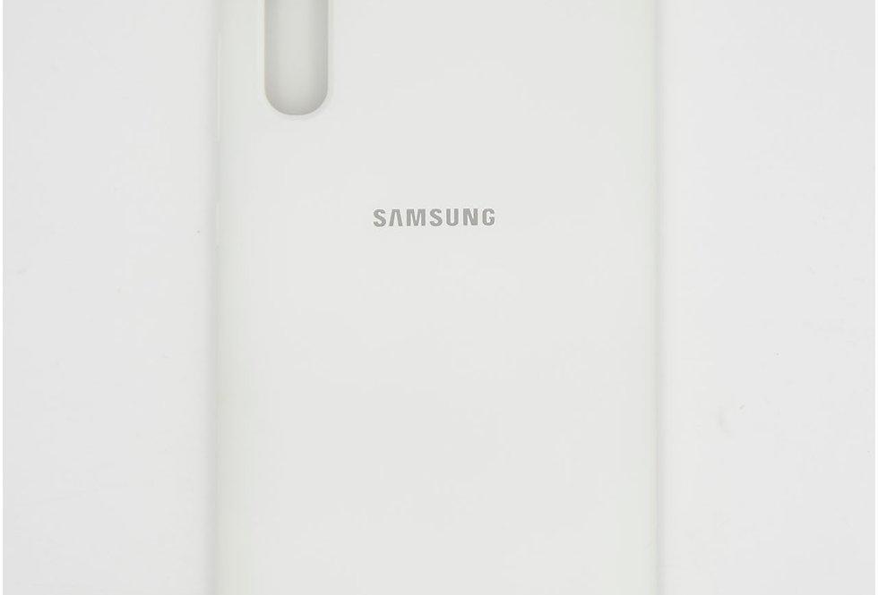 Силиконовый чехол на Samsung A70 Silicone Cover