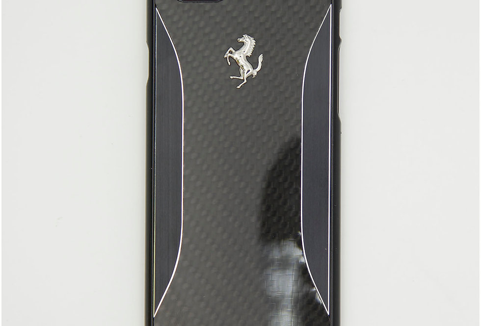 Стеклянный чехол на iPhone 6 FERRARI