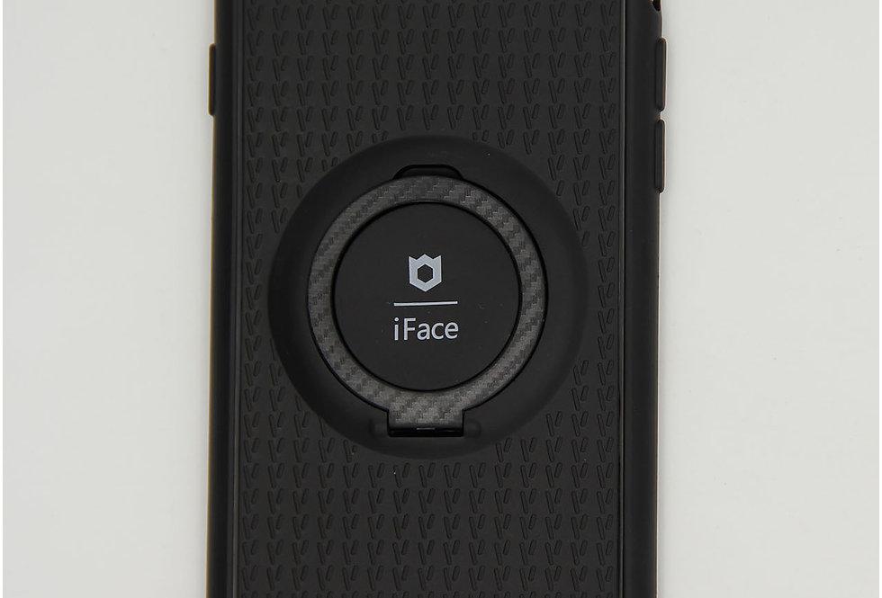 Чехол для iPhone7/8 iFace черный силикон