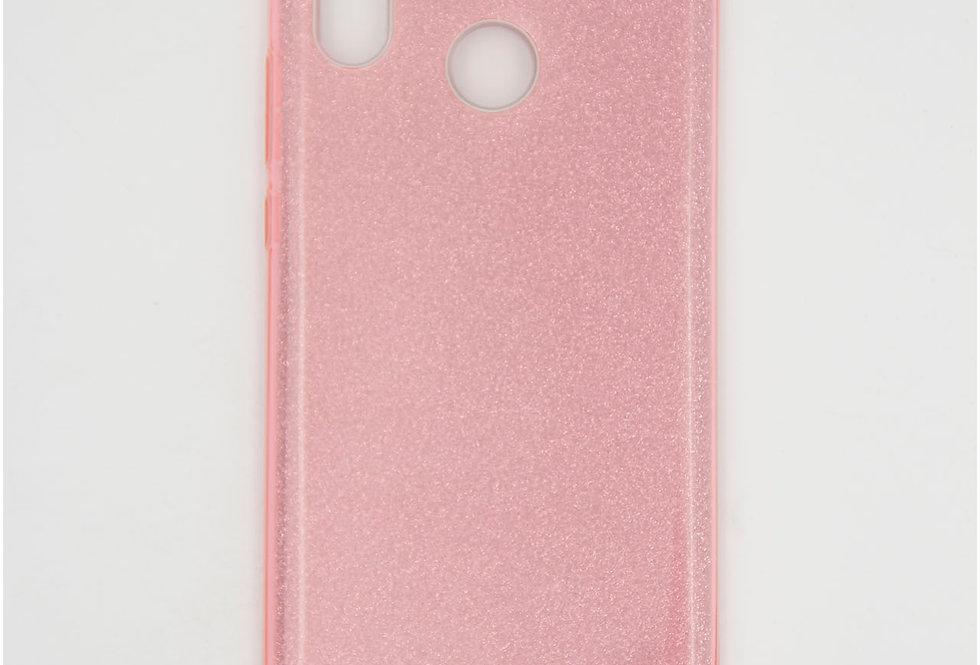 Трехсоставной силиконовый чехол на Huawei Honor P20 Lite