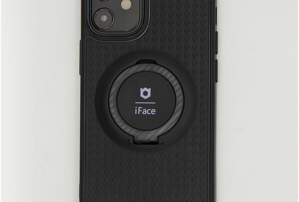 Чехол для iPhone 12 (5.4) силиконовый iFace с металлической пластиной