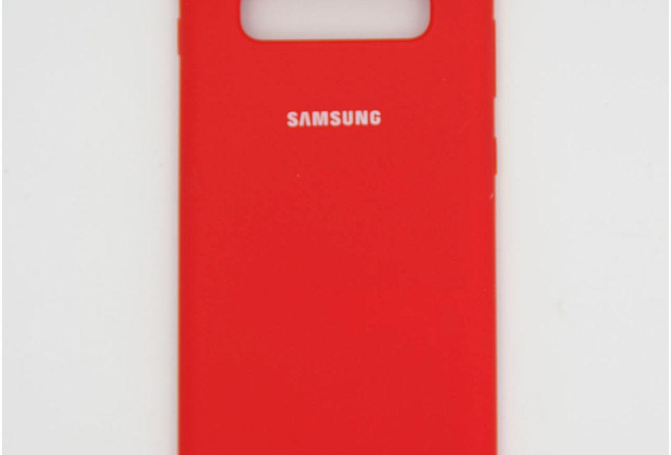 Силиконовый чехол на Samsung S10 Plus Silicone Cover
