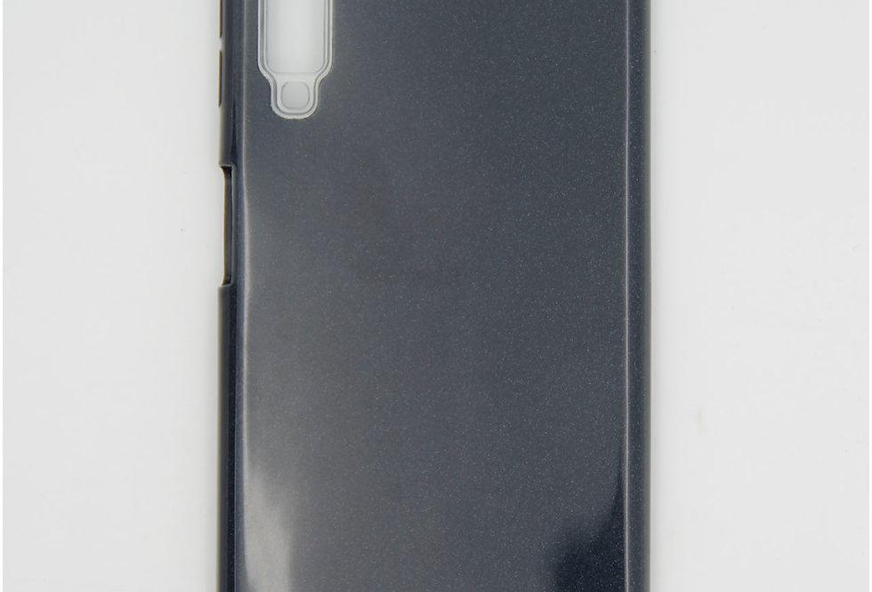 Трехсоставной силиконовый чехол на Samsung A7 2018
