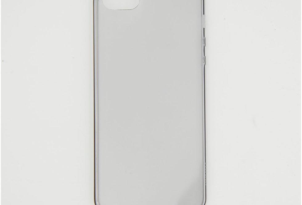 Силиконовый тонированный тонкий чехол на iPhone 5/5S/SE Hoco