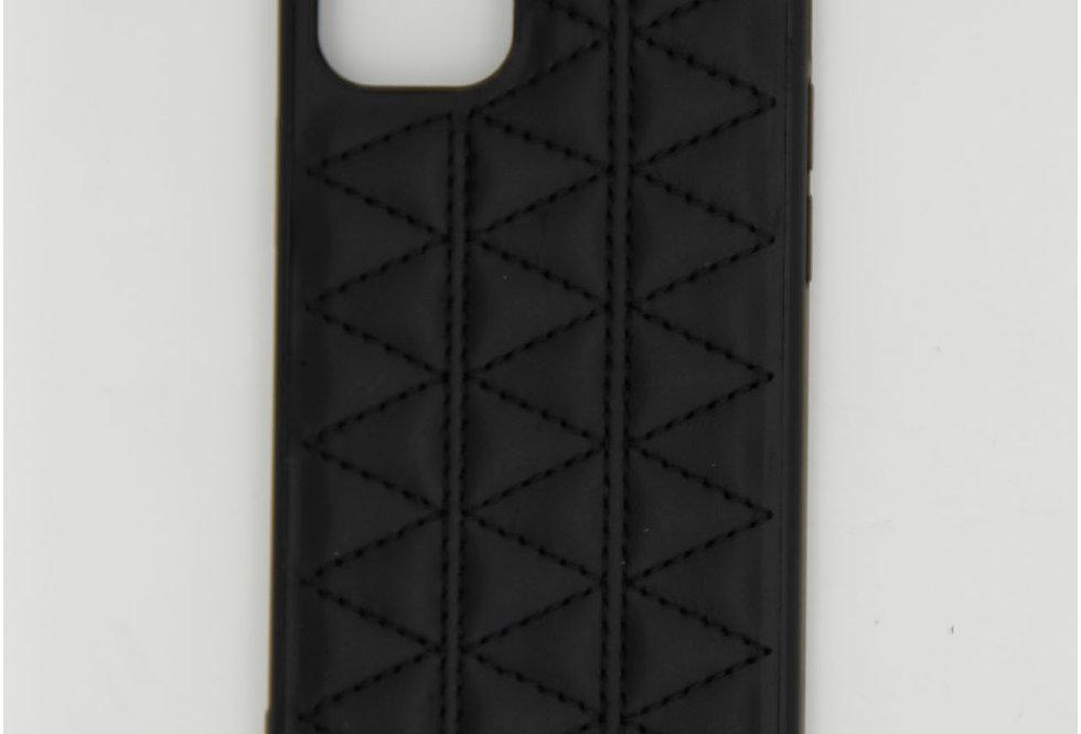 Чехол для iPhone 12 (5.4)Kajsa кожаный с прошивкой