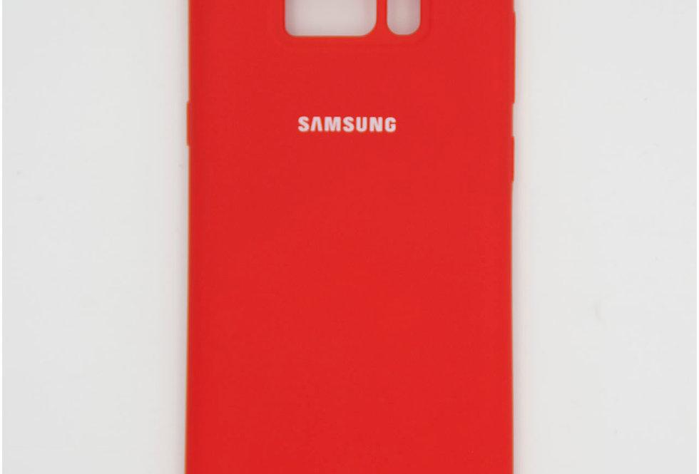 Силиконовый чехол на Samsung S8 Plus Silicone Cover