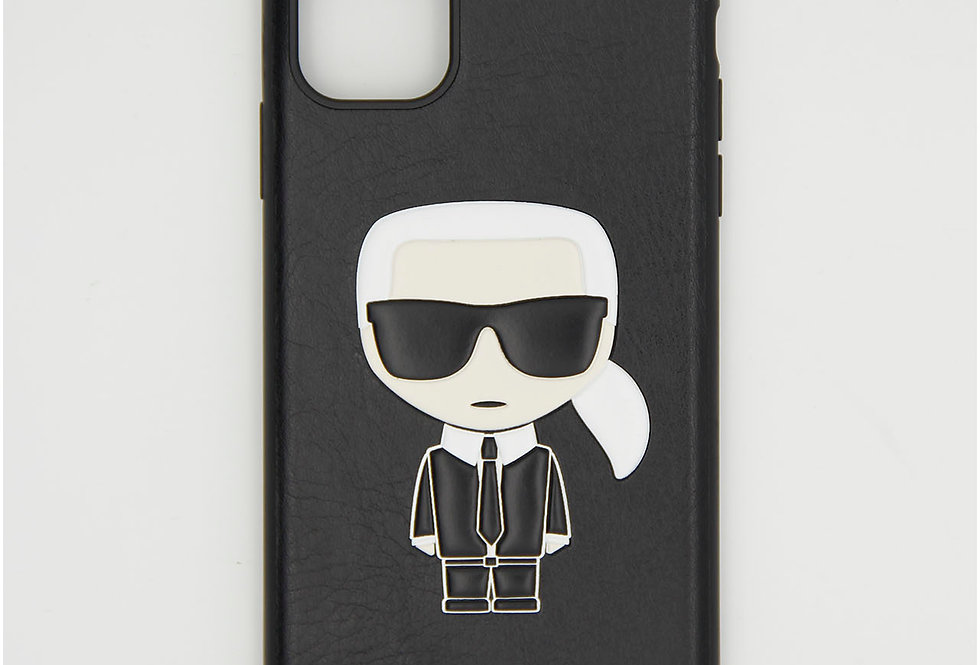 Кожаный чехол на iPhone 11 Karl Lagerfeld