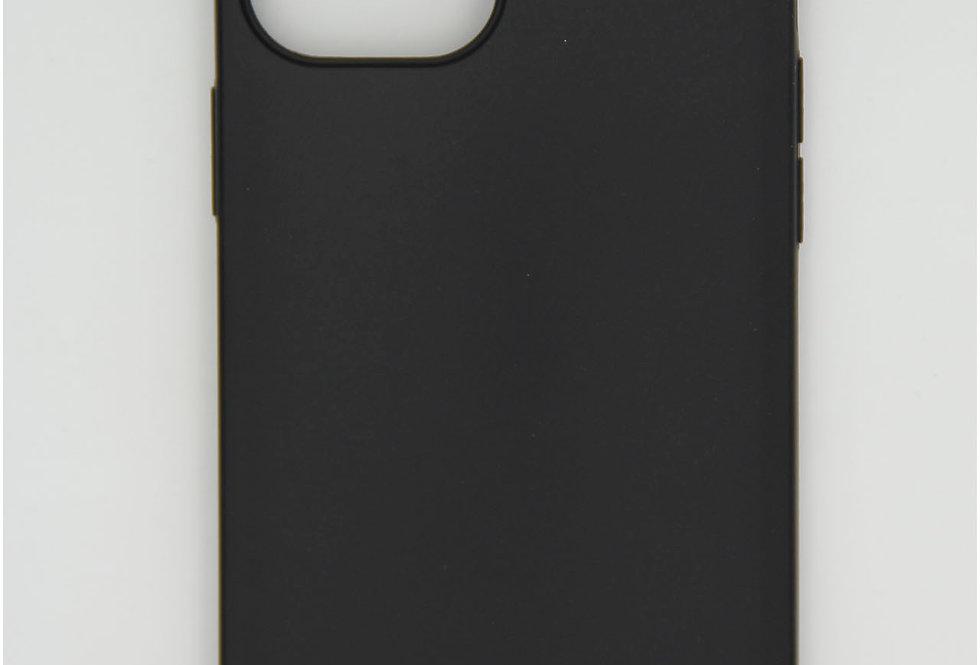 Чехол для iPhone 12 Pro Max черный матовый силикон