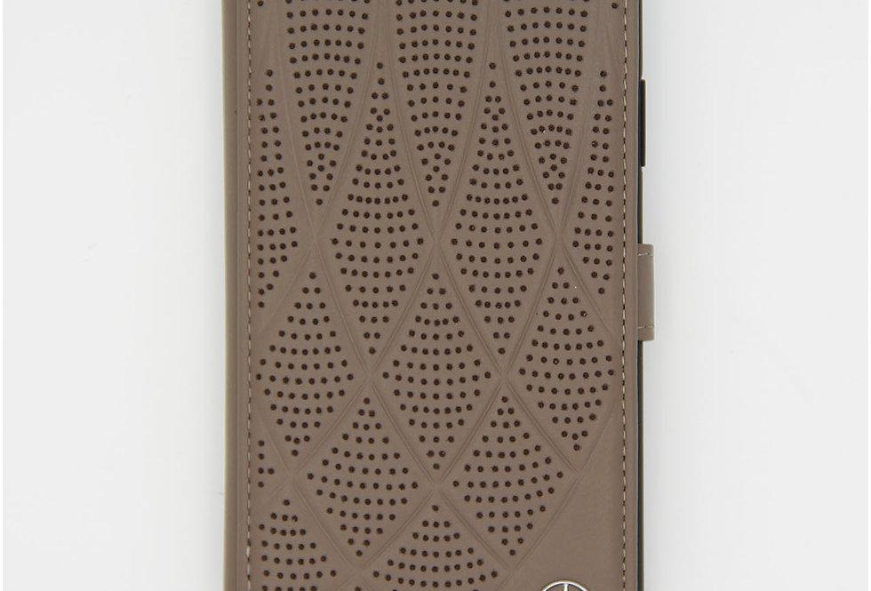 Книжка чехол кожаный на iPhone 11 Mercedes