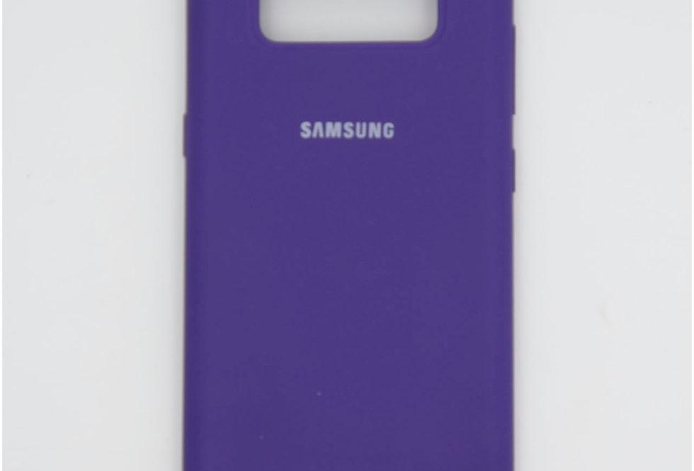 Силиконовый чехол на Samsung Note 8 Silicone Cover