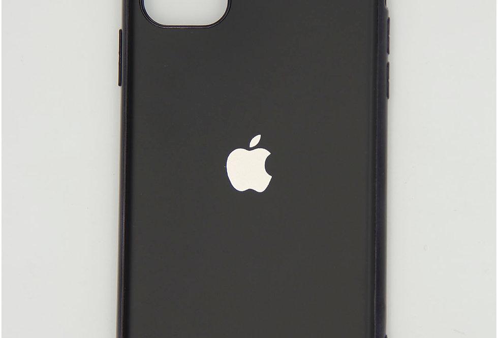 Чехол для iPhone 11 матовый силиконовый с логотипом