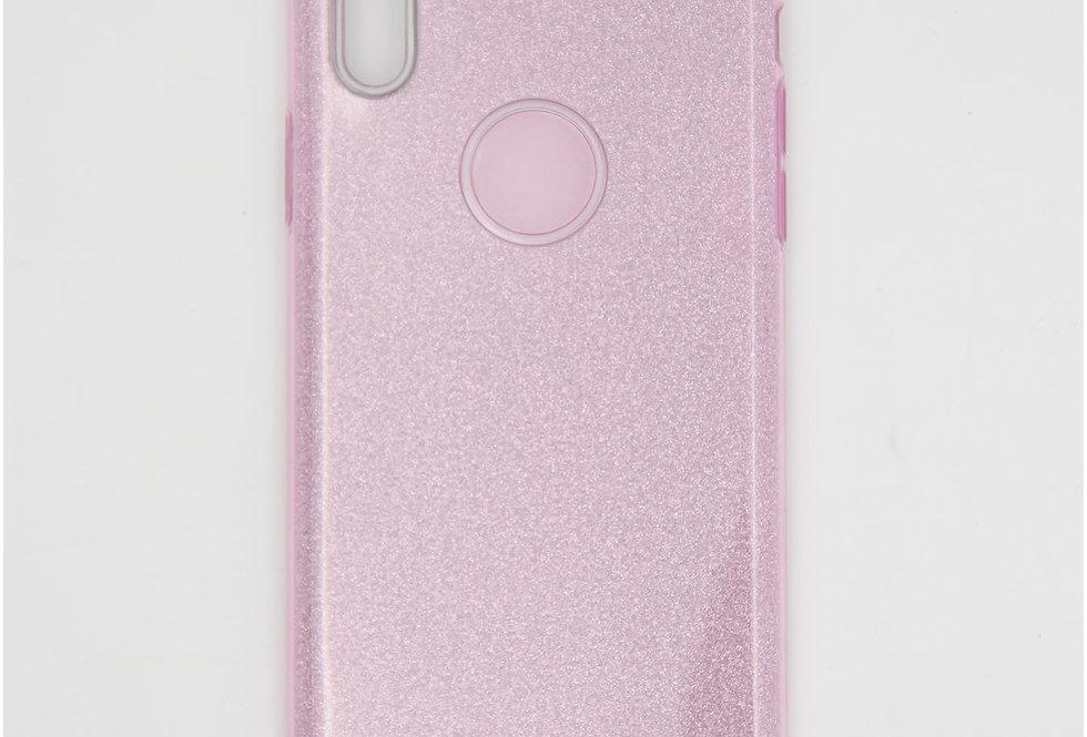 Трехсоставный силиконовый чехол на iPhone X